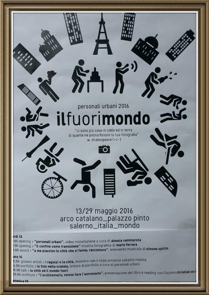 L'ARCHITEMARIO a Il Fuorimondo – Salerno
